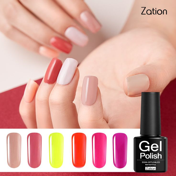Zation Professional Lamp UV Lak Gel Nail Polish Glue Led Lucky Gel Nail Polish Color Soak Off Nail Primer Gel Varnish 29 Colors  Price: 0.98 USD