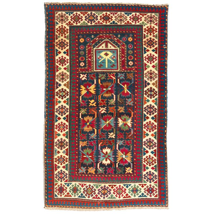 Caucasian Talish Prayer Rug