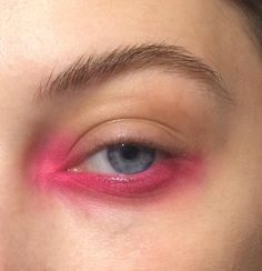 pink eye...but in a good way.