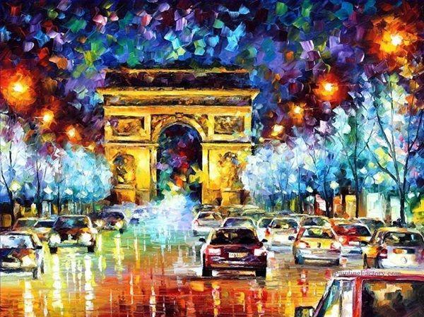 40 Beautiful Oil Pastel Paintings