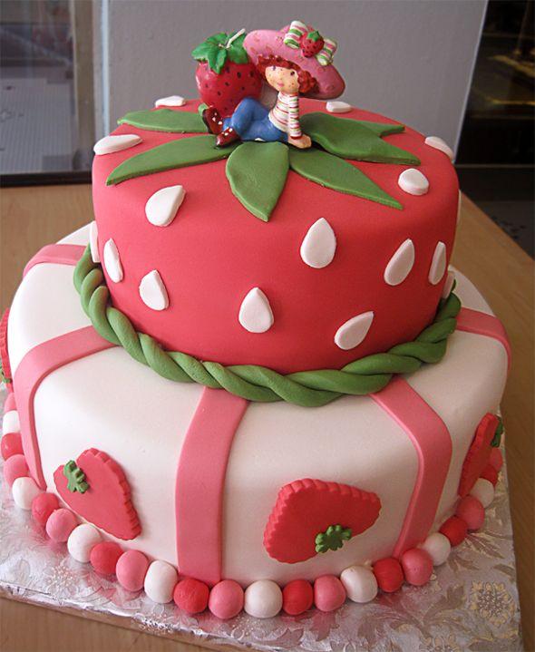 Strawberry Shortcake Cakes Pinterest
