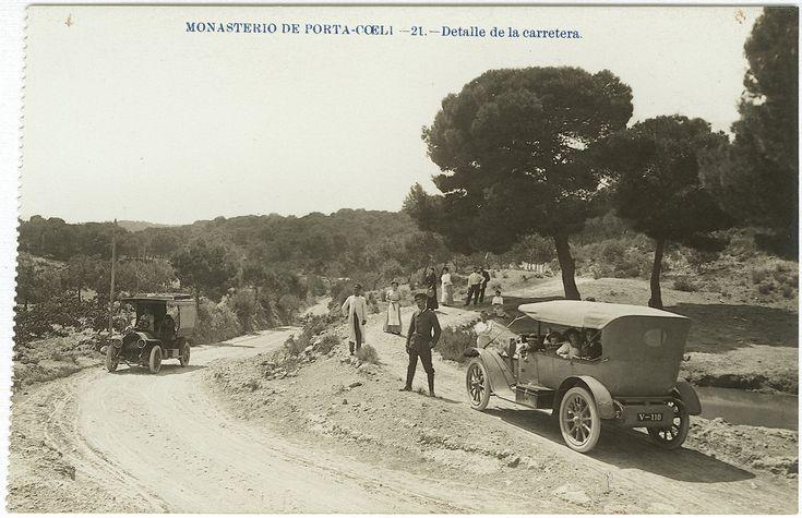 Detalle de la carretera : Monasterio de Porta-Coeli (s.a.) - Fabert, Andrés
