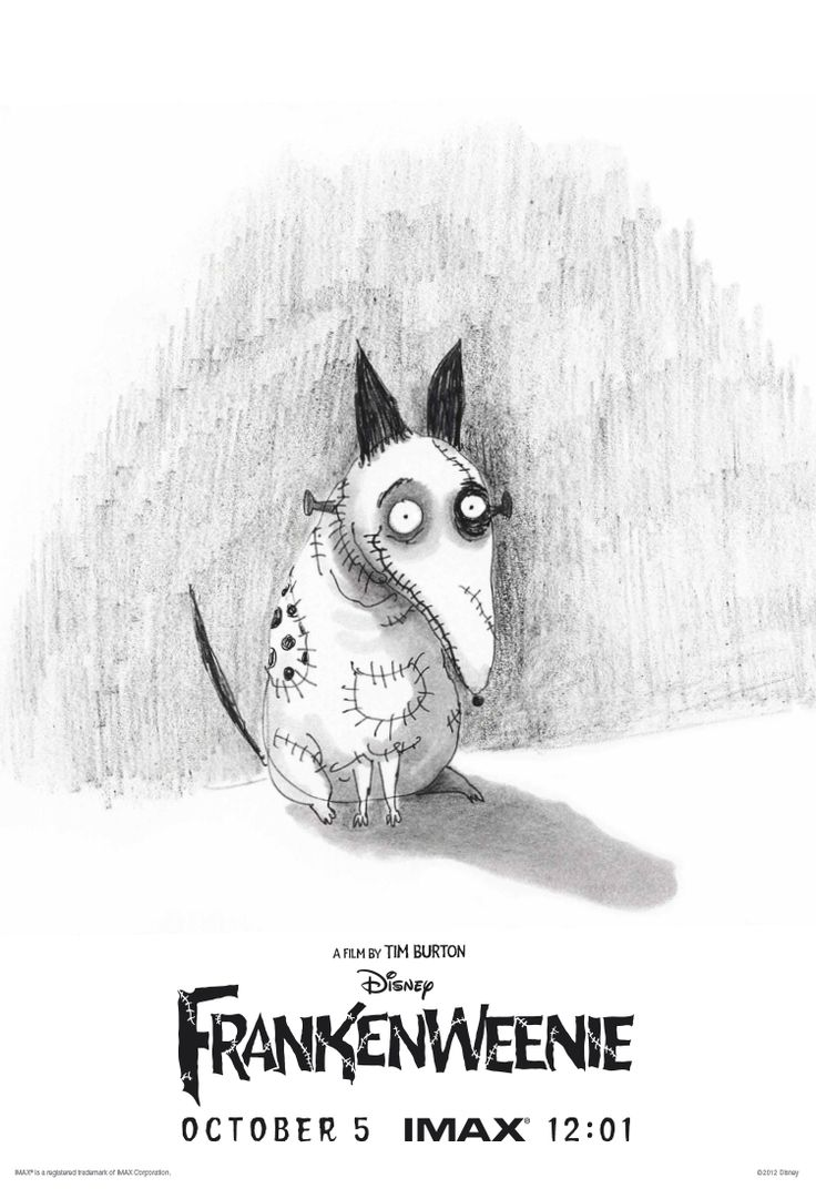 Attendees of the IMAX 12:01 midnight show of Frankenweenie will receive an exclusive limited edition print using an original sketch by Tim Burton. Get yours at participating IMAX theaters October 5: http://di.sn/n4B