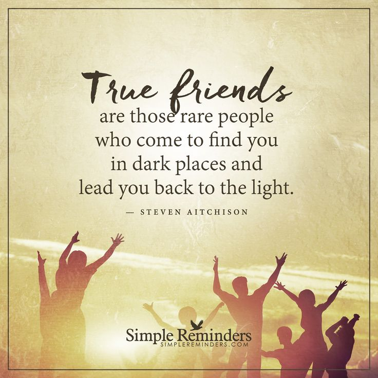 friendship and people