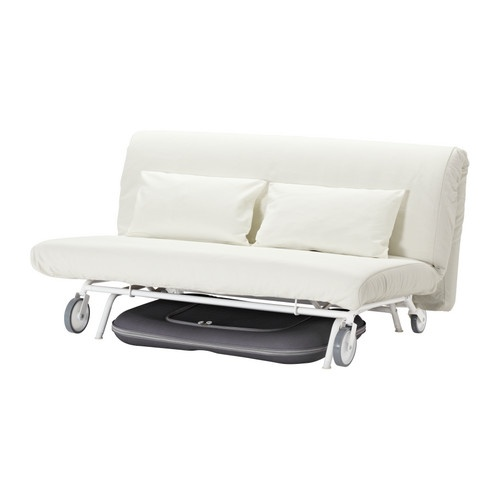 Ikea ps l v s sofa bed ikea the casters make the sofa easy - Easy to move couch ...