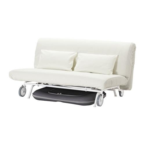 ikea ps l v s sofa bed gr sbo white. Black Bedroom Furniture Sets. Home Design Ideas