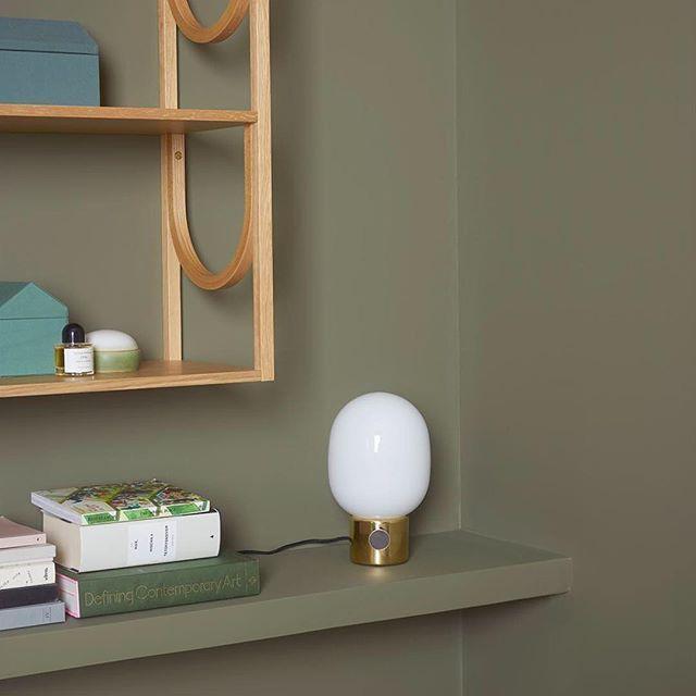 MENU JWDA lamp in Jotun LADY campaign by Karkvik D´Orazio. Jotun Col. 8479 Evergreen. #menu #menuworld #menulamp #menudesign  #jotunlady #jotun #evergreen #interiør #inspirasjon #inter...