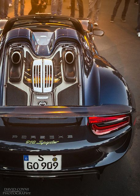 Porsche 918 Spyder   by David Coyne Photography