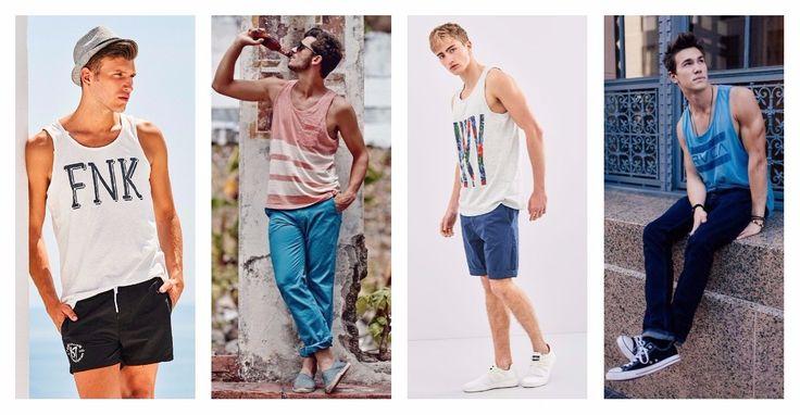 Το αμάνικο μπλουζάκι είναι ο ορισμός του casual. Άνετο και κατάλληλο για τη ζέστη του καλοκαιριού! Συνδύασε το tank top: 🕶️ Με μαγιώ ή βερμούδα 🕶️ Με jeans ή city pants