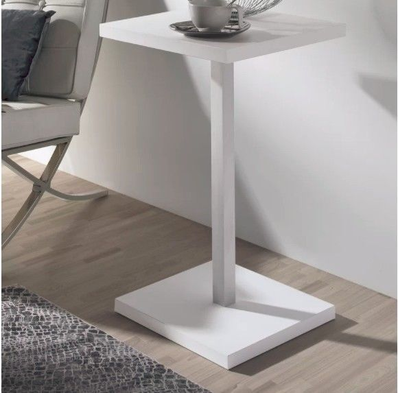 Swell Small Side Table White Gloss Modern Coffee Tables Square Short Links Chair Design For Home Short Linksinfo