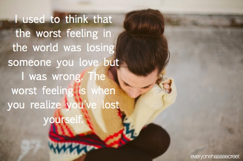 Funny Quotes About Feeling That You Are Losing What You Love: I Used To Think That The Worst Feeling In The World Was