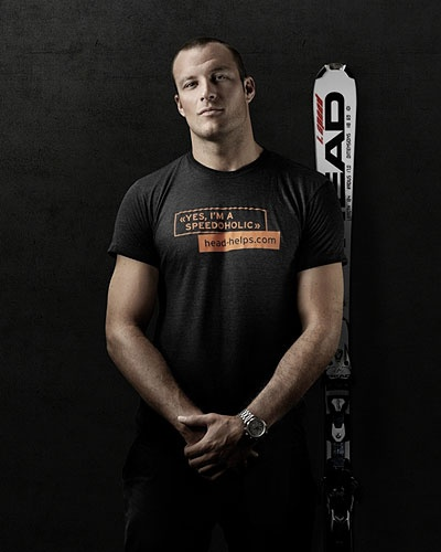 Aksel Lund Svindal...awesome skier and very handsome guy : )