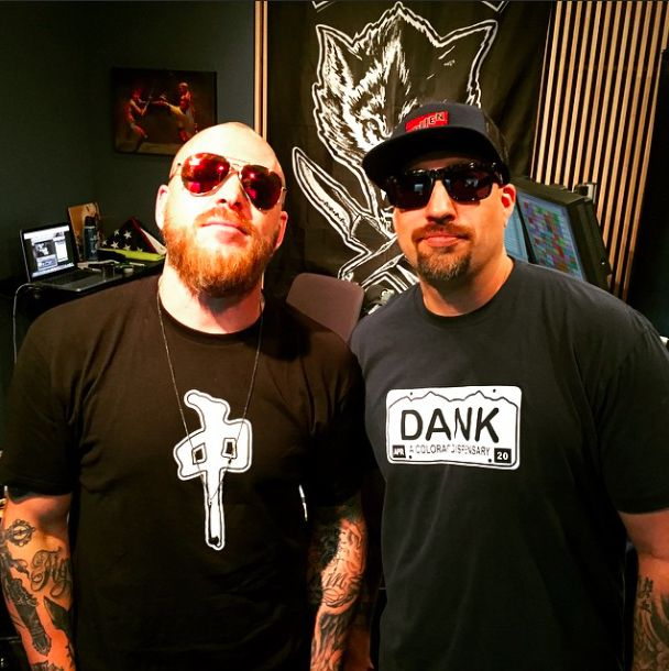 Jason Ellis rocking the matte black Sequoia pendant on his show the other day. Thanks for the love Ellis. #vitaly #jasonellis #BReal #CypressHill