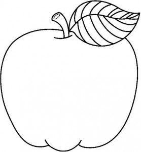 Fruit coloring page part 2