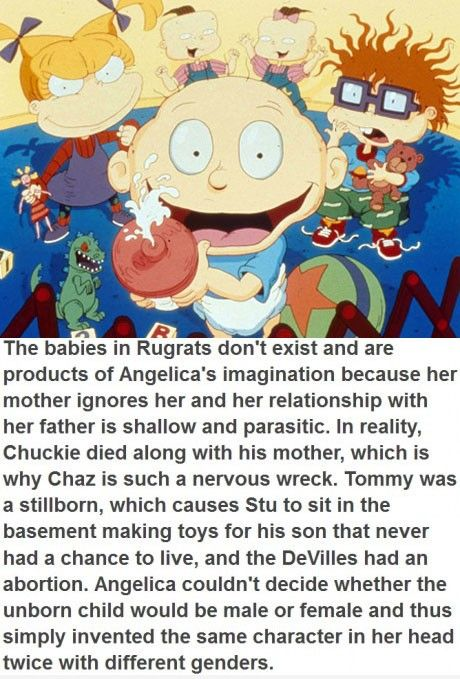 The Truth Behind The Rugrats  click the link to read more in depth. its so fucked up!
