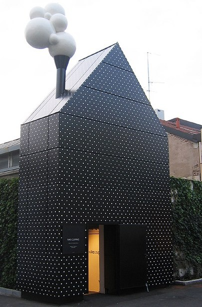 The Doll House art installation in #Milan