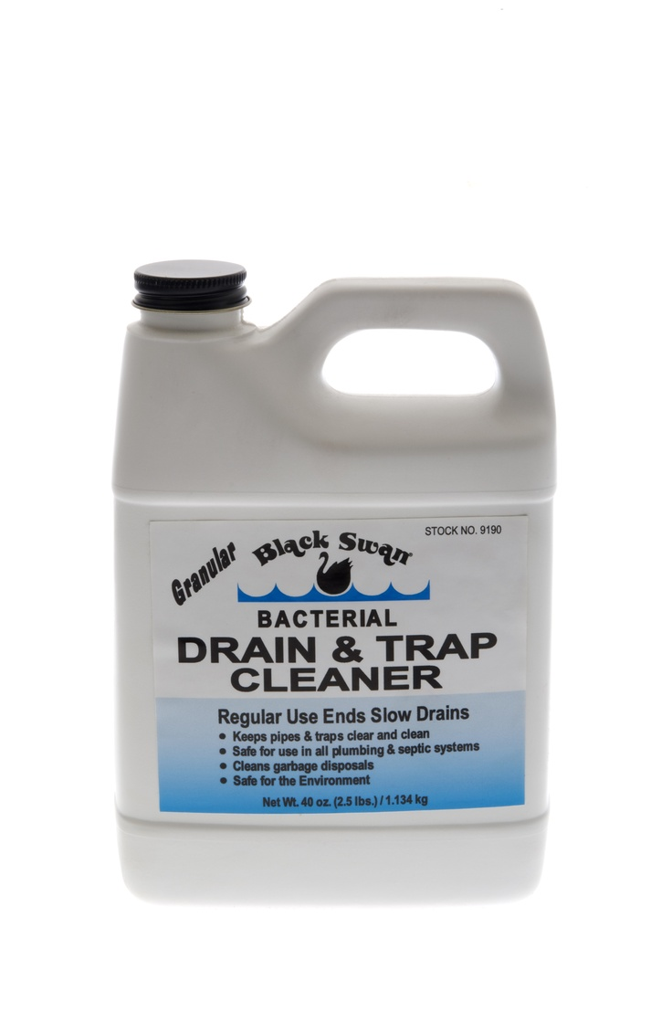 Black Swan Bacterial Drain Amp Trap Cleaner Is A Powdered