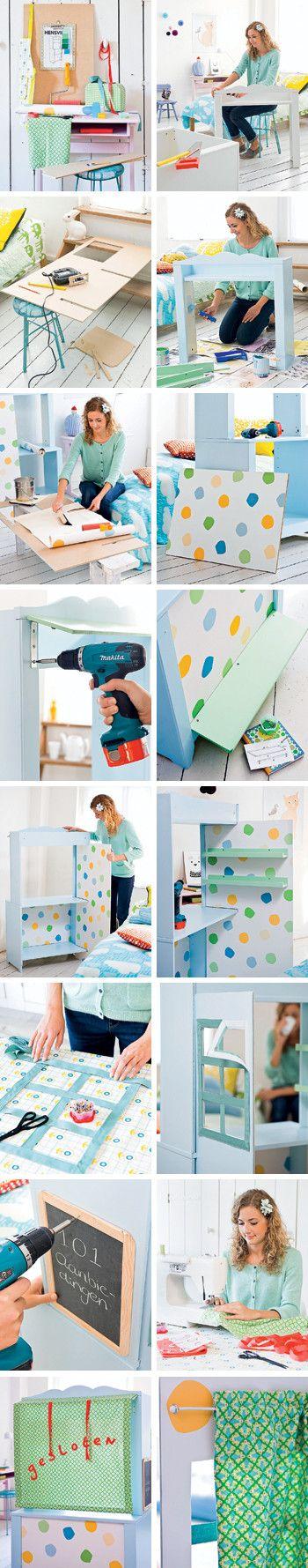 stappenplan - met Hensvik kast Ikea