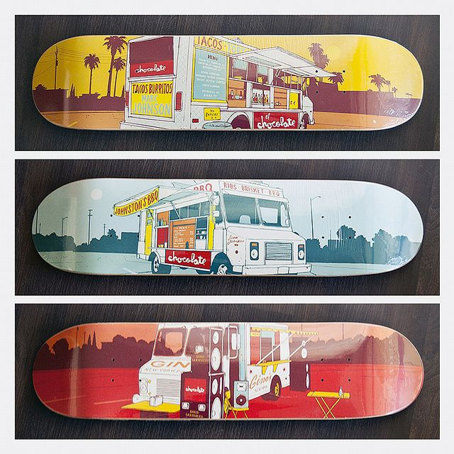 Chocolate Skateboards - Evan Hecox Lunch Truck Series | Flickr - Photo Sharing!