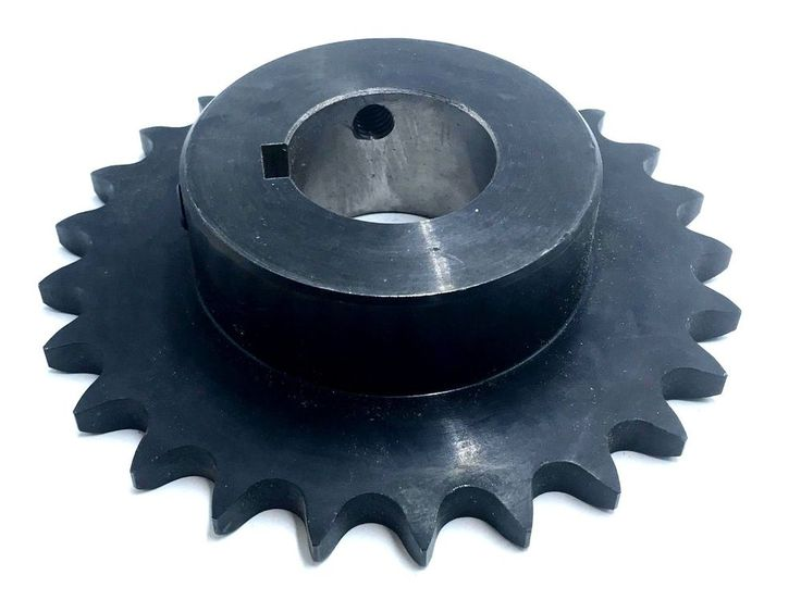 """Browning 50B25 Minimum Bore Roller Chain Sprocket 3/4"""" Stocked Bore 25 Teeth #Browning"""