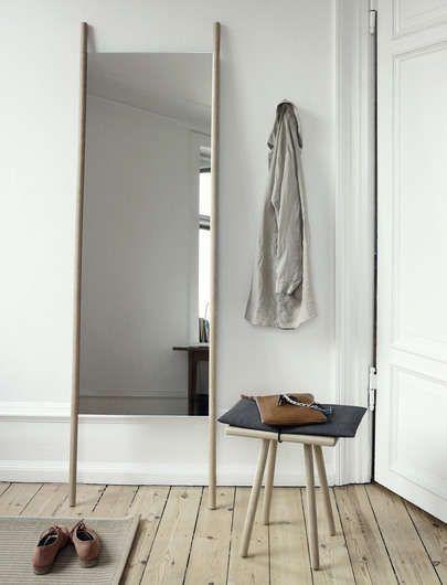 mirror by trip trap