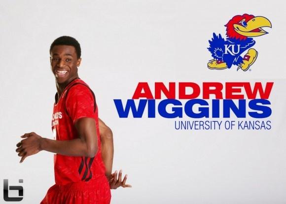 Andrew Wiggins Picks Kansas Jayhawks