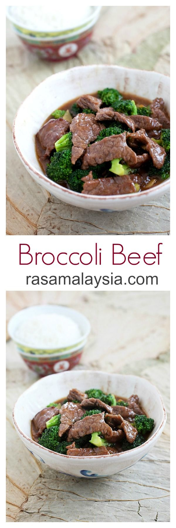 USA- Broccoli Beef - silky and tender beef and healthy broccoli in a super yummy brown sauce | rasamalaysia.com