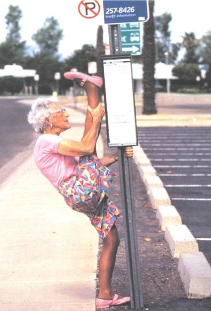 I hope I can do this at that age! Lollll
