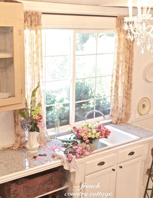 French Country Cottage Cottage Kitchen Kitchens