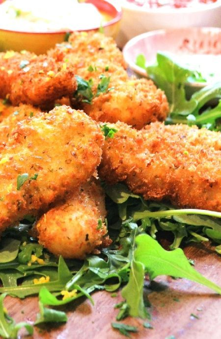 Low FODMAP Recipe and Gluten Free Recipe - Fish goujons with tartare sauce  http://www.ibs-health.com/low_fodmap_fish_goujons_tartare_sauce.html