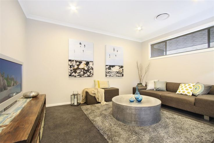 G.J. Gardner Homes Shoalhaven - Display Home, The Coolum, Lounge Room 20 Firetail Street, South Nowra, NSW, 2541