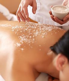 Bliss GlamSpa - Body exfoliation