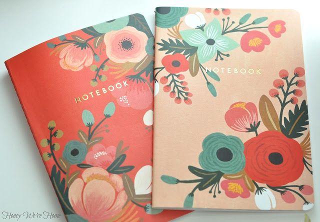 Beautiful notebooks at Target
