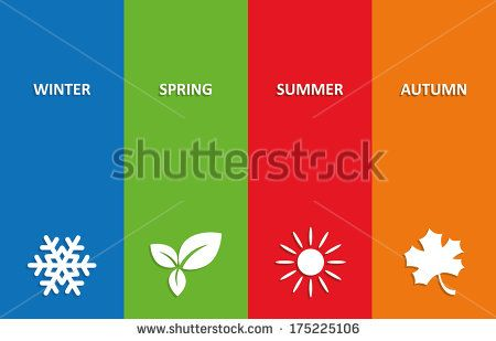 Seasons Weather Stock Vectors & Vector Clip Art | Shutterstock