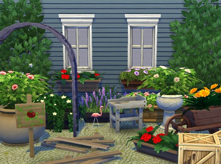 1000 images about garden decor plants flowers sims 4 for Indoor gardening sims 4