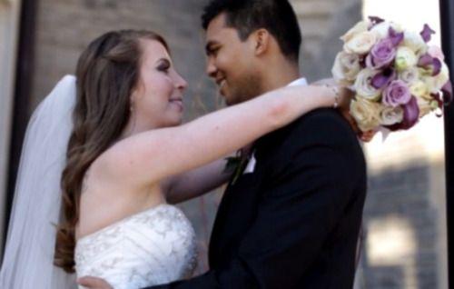 Foto: Reprodução/ Vimeo   Já imaginou marcar a data do casamento e meses depois descobrir que o noivo tem câncer terminal e talvez não consiga resistir até o dia da cerimônia? Foi o que aconteceu com