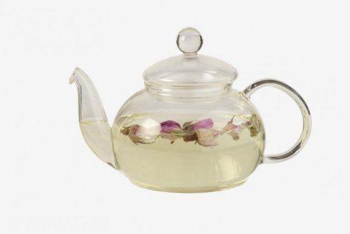 De-Luxe Glass Tea Pot, 600ML: Amazon.co.uk: Grocery