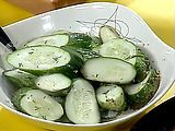 quick pickles from Rachel Ray