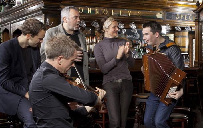 Get everyone's feet tapping and start a raucous sing-a-long with these Irish tunes.