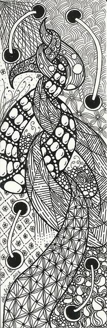 Bookmark 001Doodle Tangled, Bookmarks 001, Doodles Art, Zen Tangled, Doodles Crafts, Art Zentangle, Crafty Zentangle, Inspiration Art, Drawing Zentangles Doodles