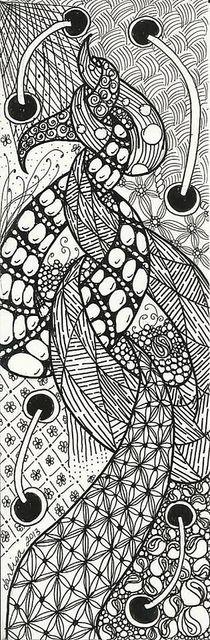 Bookmark 001: Bookmarks 001, Doodles Art, Doodles Crafts Diy, Zentangle Doodles Drawings, Creative Drawings, Art Zentangle, Photo, Bookmarks Tags, Doodles Tangled