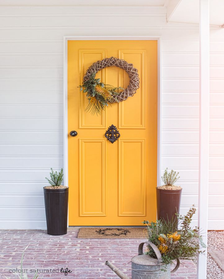 24 best color palette front door paint images on for Front door yellow paint