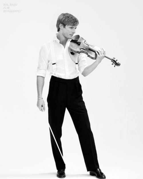 Bradley James. Amazing what a violin will do for a man's sex appeal.