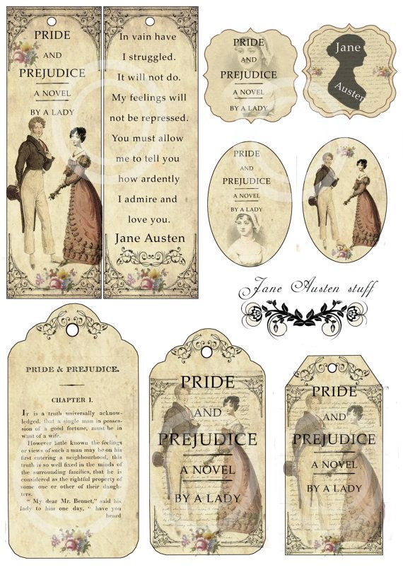jane austen pride and prejudice bookmarks and by angelicanight bridal shower in 2018 pinterest jane austen pride and prejudice and jane austen books