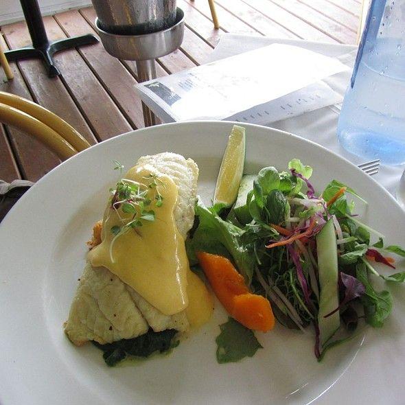 Mahi Mahi (sea fish) @ Tamarind House. Read international model Teresa Moore's blog about Rarotonga.
