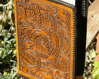 Leather carving: .