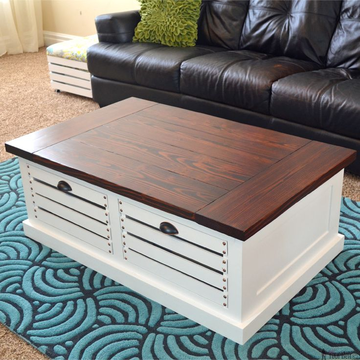 1000+ Ideas About Coffee Table Storage On Pinterest