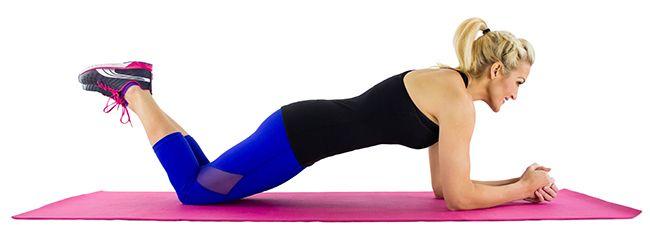 Modified Plank (Skinny Mom)