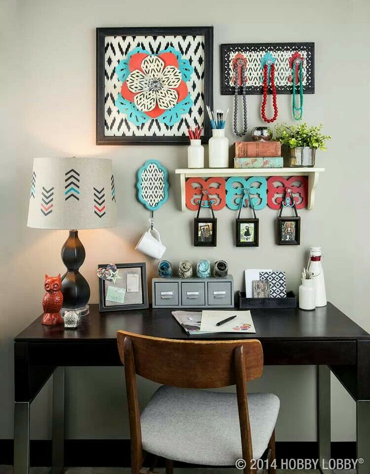 hobby lobby decor for the home pinterest office decor shelves and love. Black Bedroom Furniture Sets. Home Design Ideas