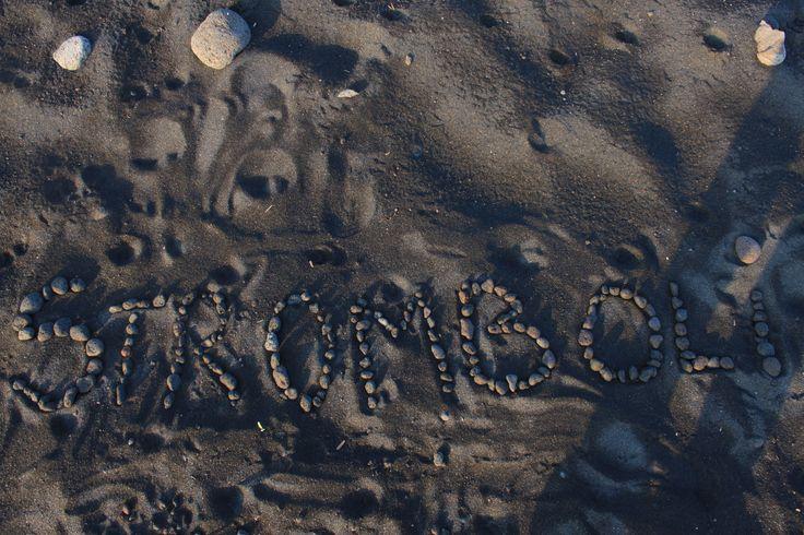 Sabbia nera, Stromboli